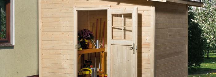 Haben Sie Ihr Holzgerätehaus schon versichert? Lesen Sie hier, was Sie dabei beachten sollten.